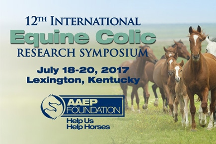 AAEP Foundation To Host 12th International Equine Colic